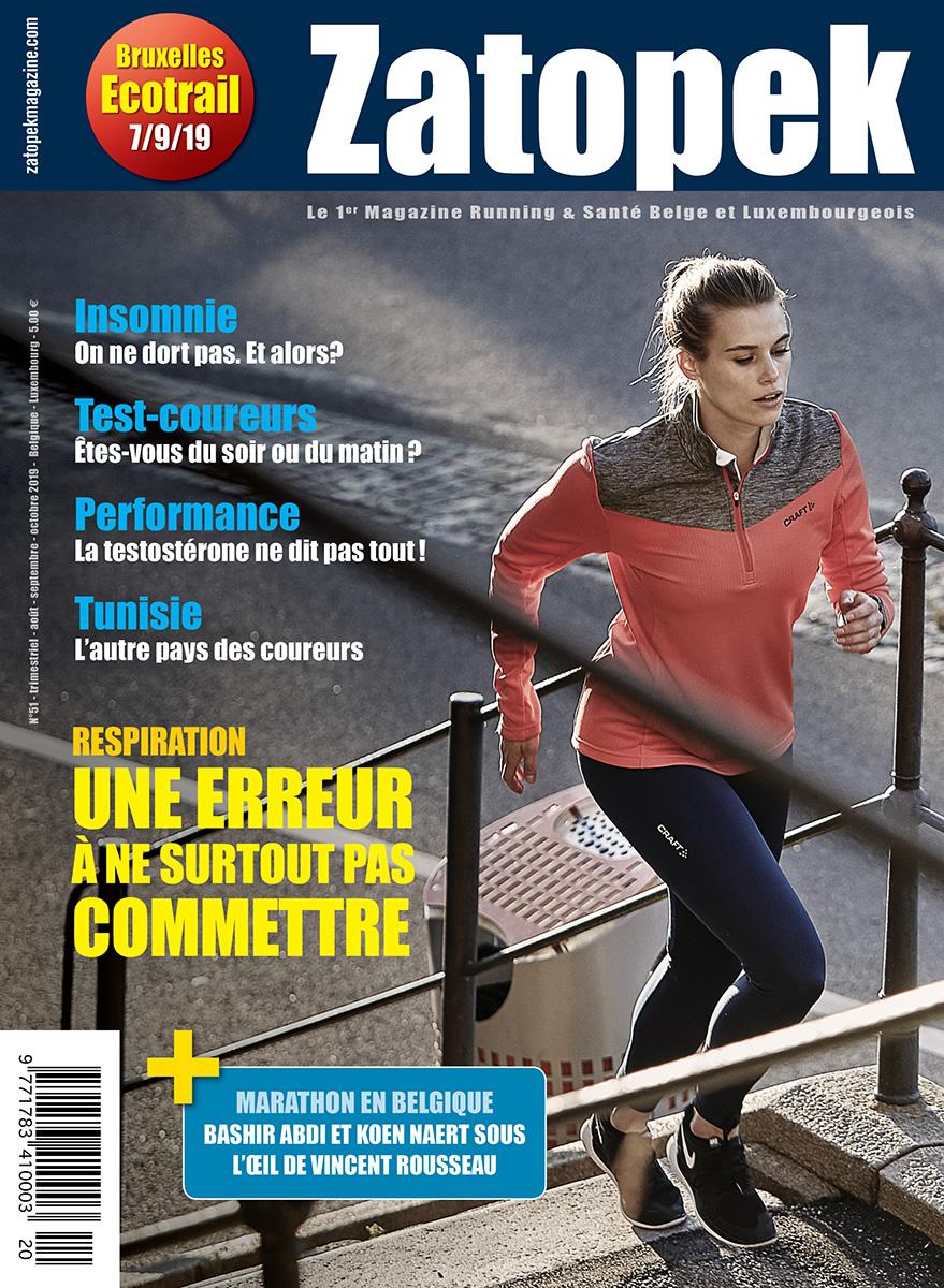 Cover magazine Zatopek 51