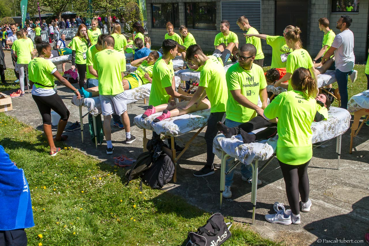 15km Charleroi - massage