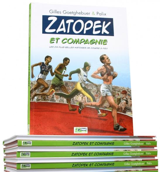 Bande dessinée Zatopek et Compagnie