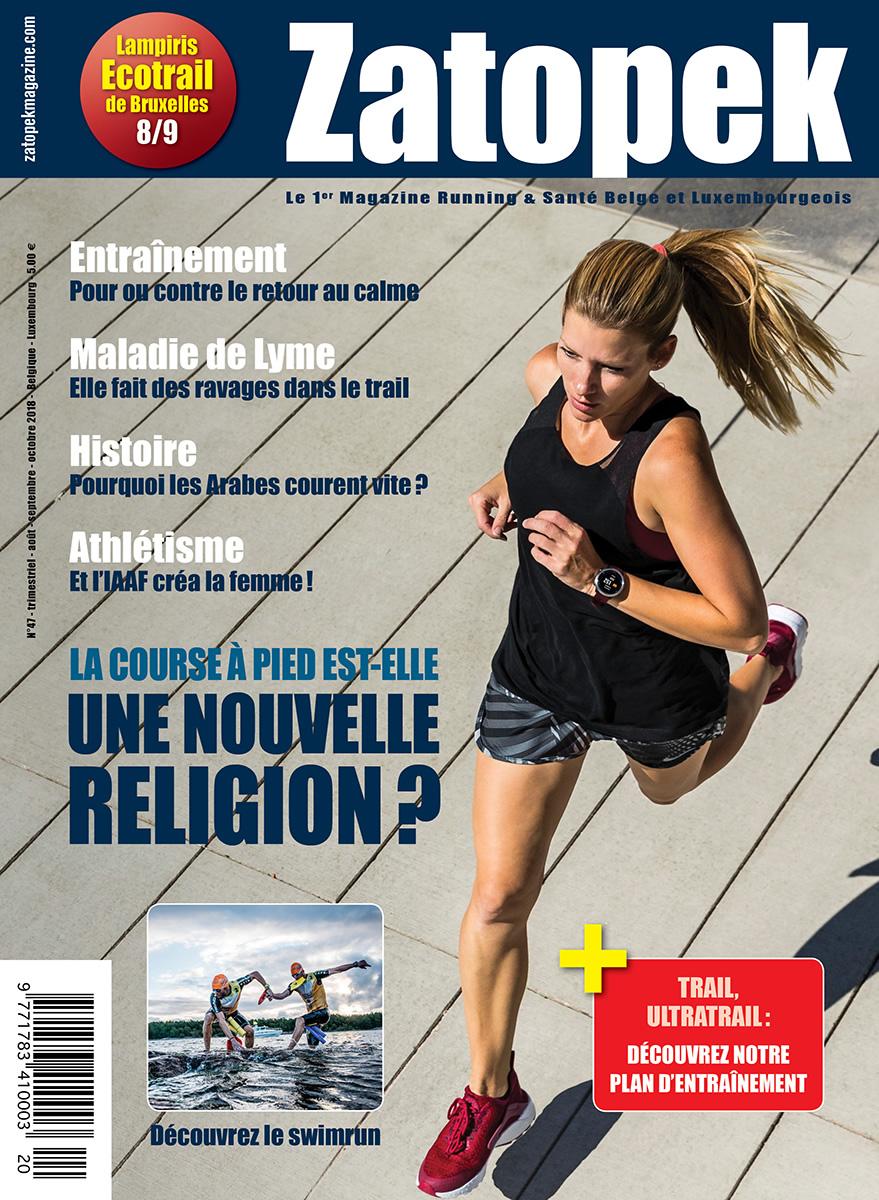 Cover Magazine Zatopek 47