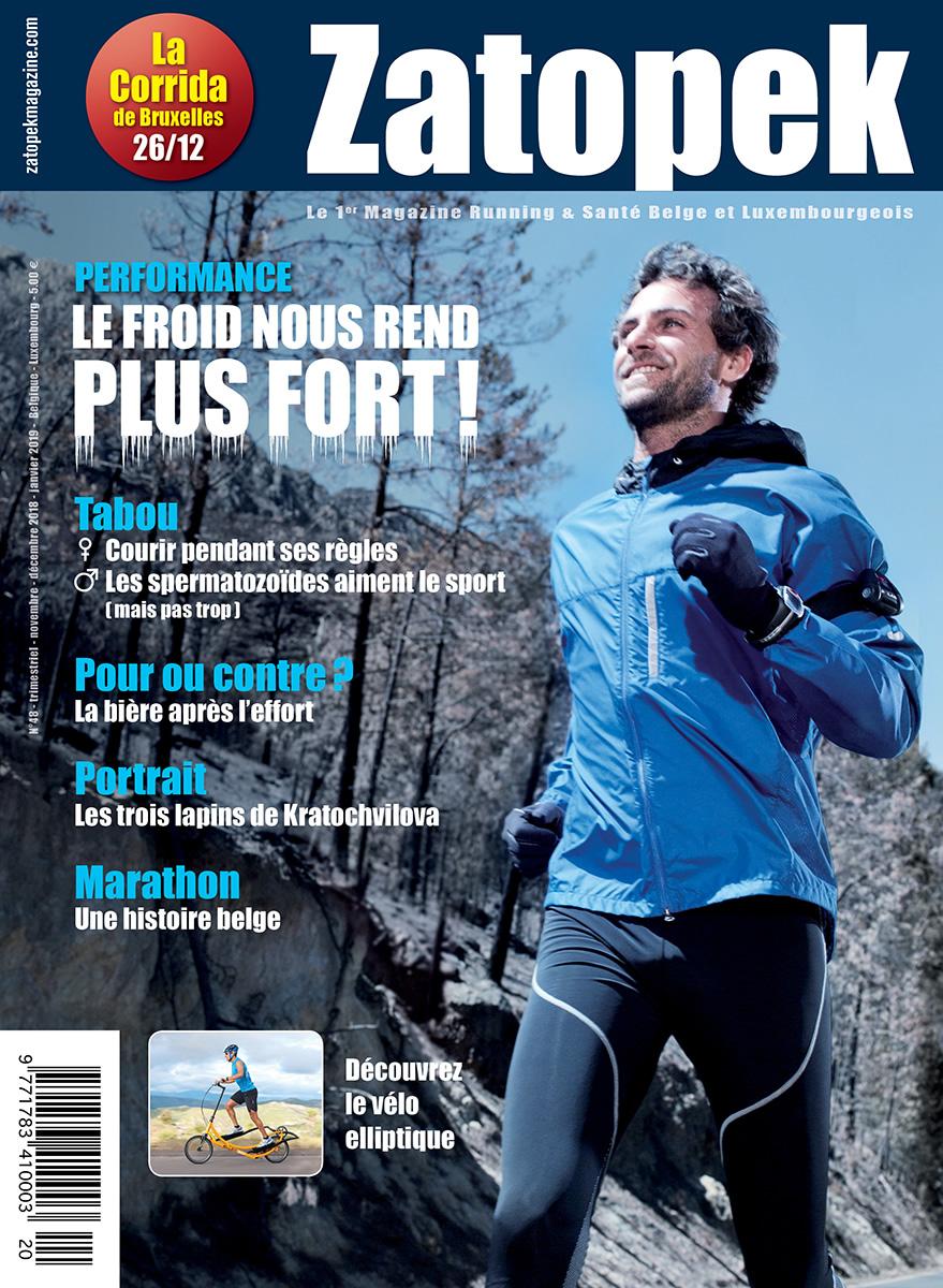 Cover Magazine Zatopek 48