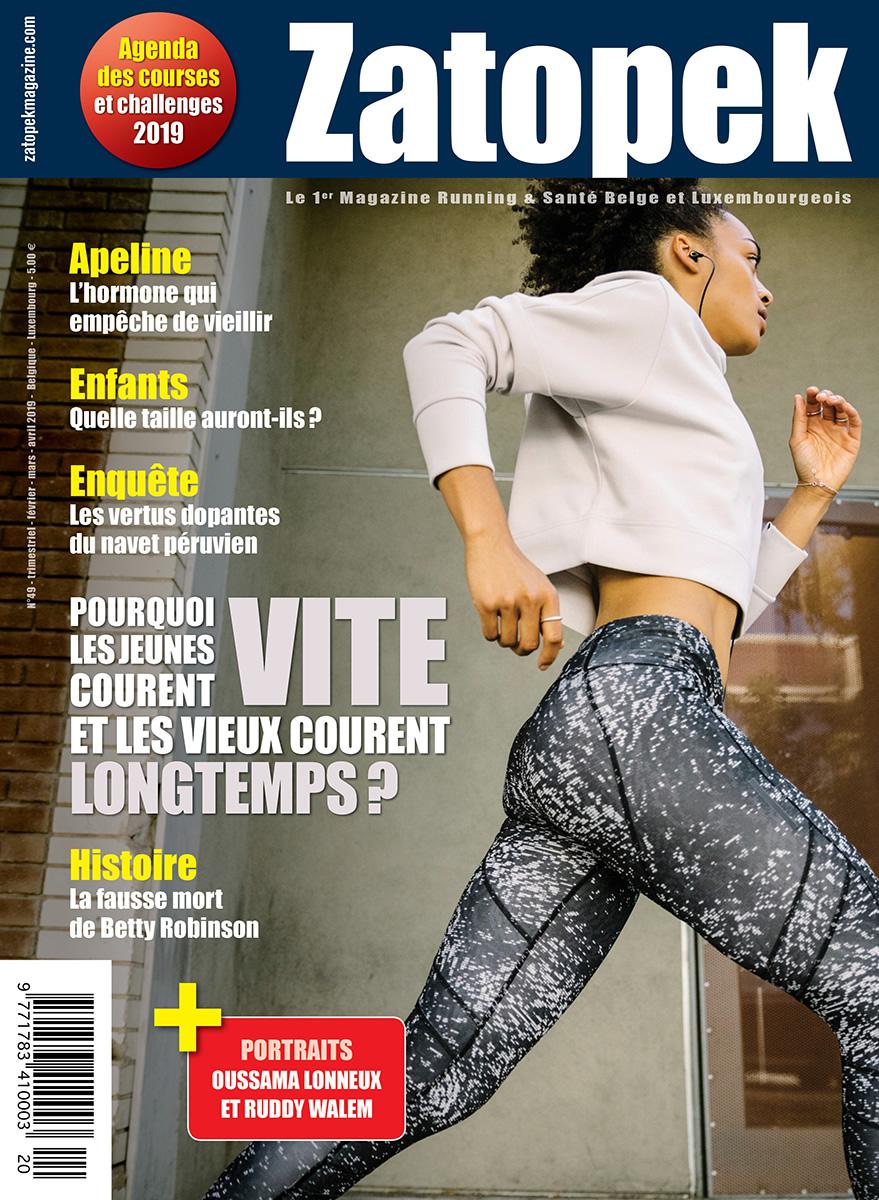 Cover Magazine Zatopek 49