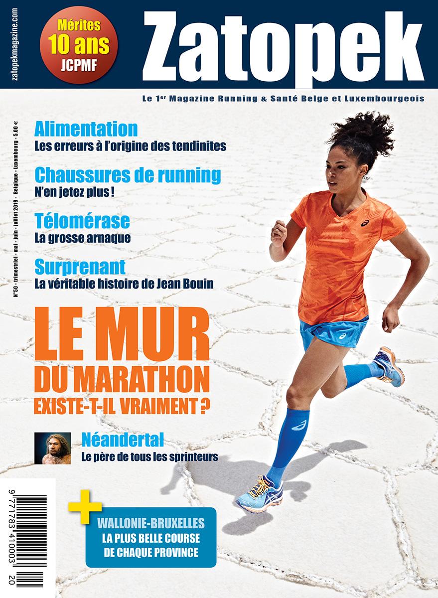 Cover Magazine Zatopek 50