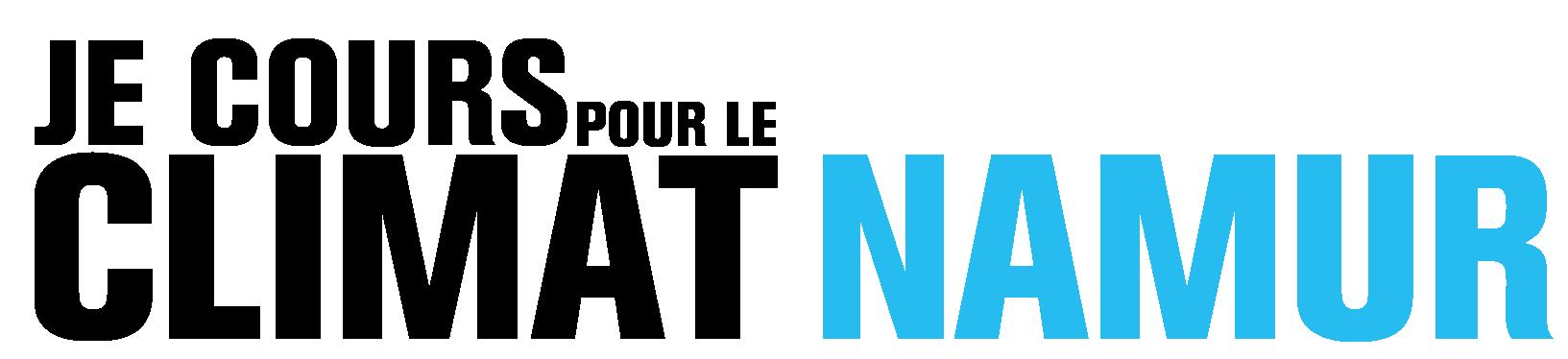 Logo Je cours pour le climat Namur