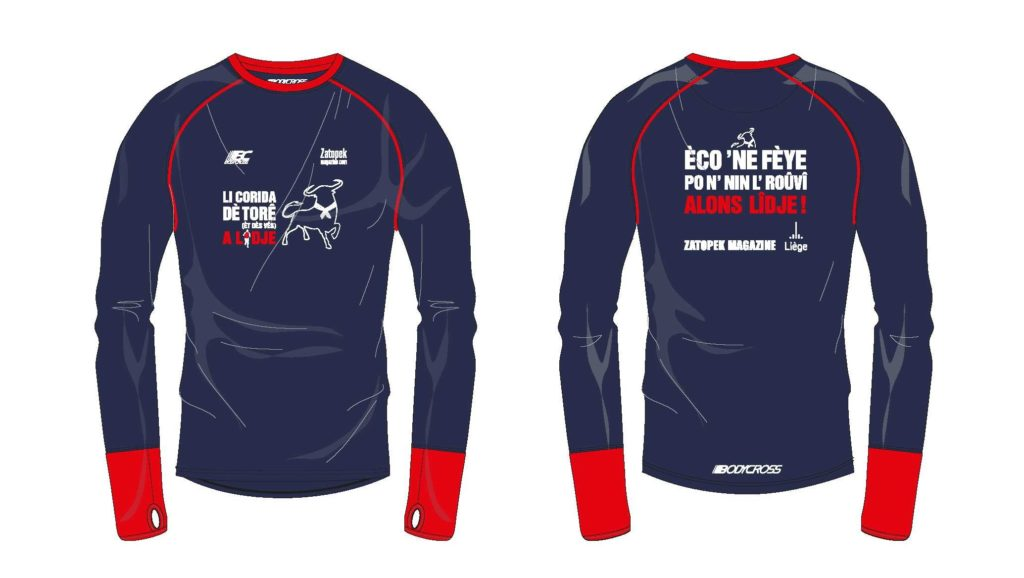 Corrida Liège - t-shirt