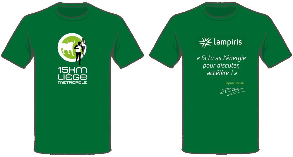 T-shirt Lampiris