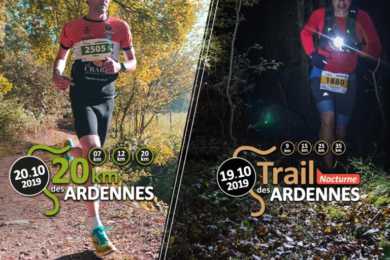 Jogging Trail 20km Ardennes
