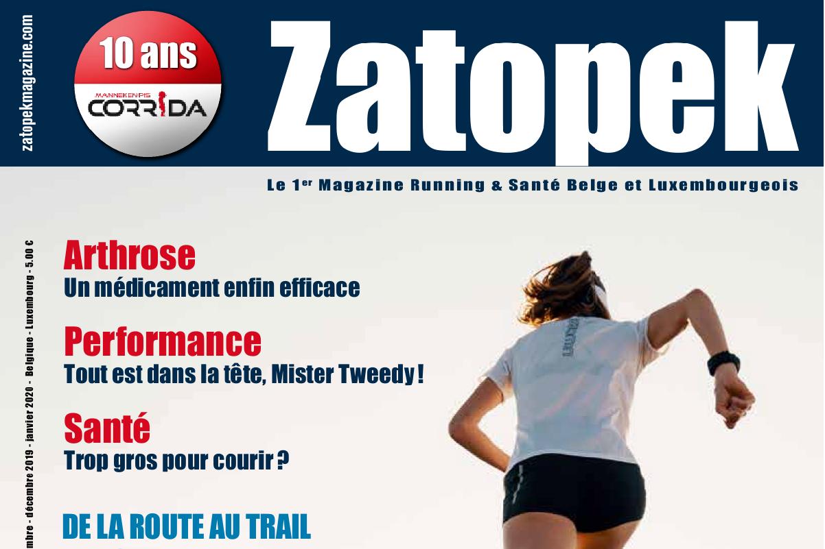 Cover Zatopekmagazine 52 newsletter
