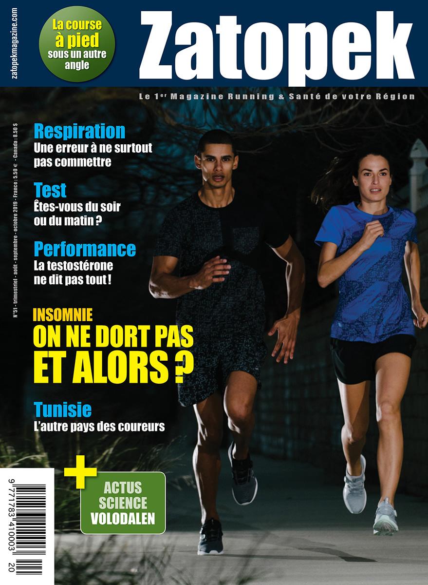 Cover Zatopek Magazine France