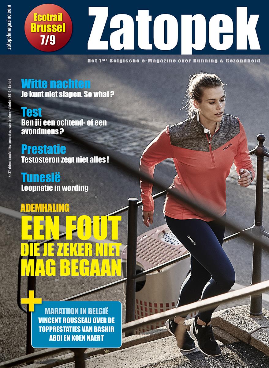 Cover Zatopek Magazine
