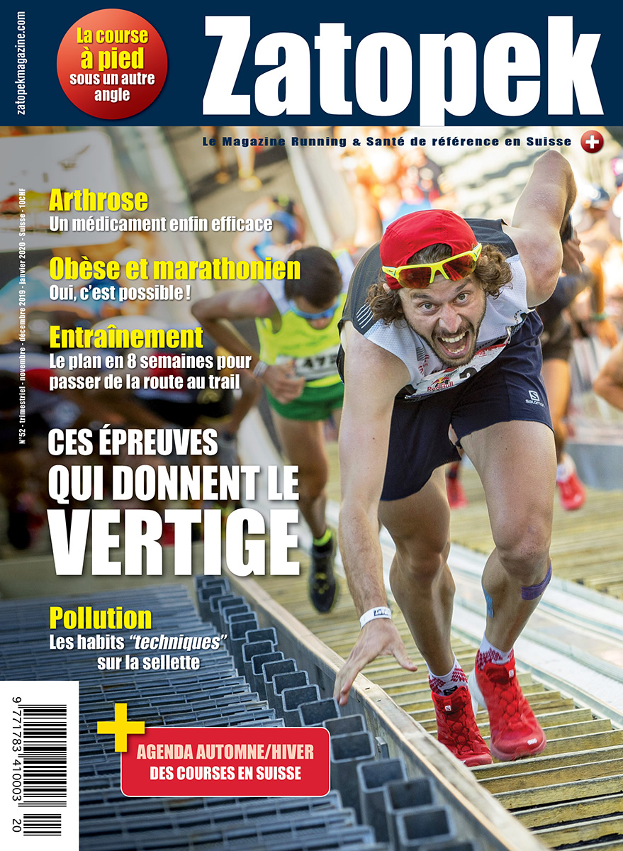 COUVERTURE ZATOPEK N°52 CH