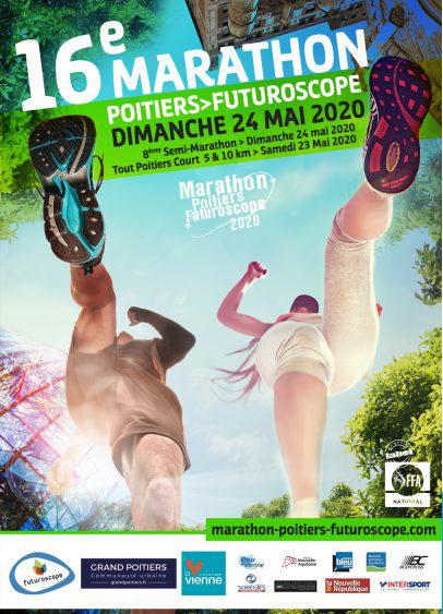 Marathon Poitiers Futuroscope flyer