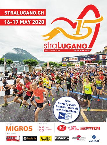 Affiche StraLugano 2020