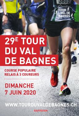 Tour du Val de Bagnes Affiche 2020