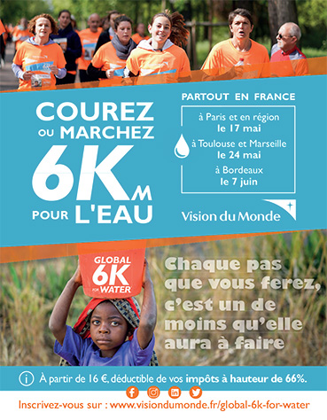 Affiche Global 6K for water 2020