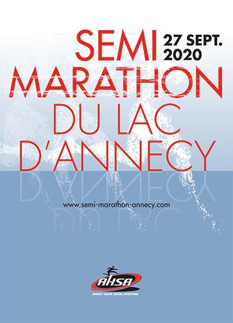 Affiche Semi Annecy 2020