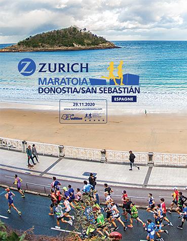 Affiche San Sebastian Marathon 2020