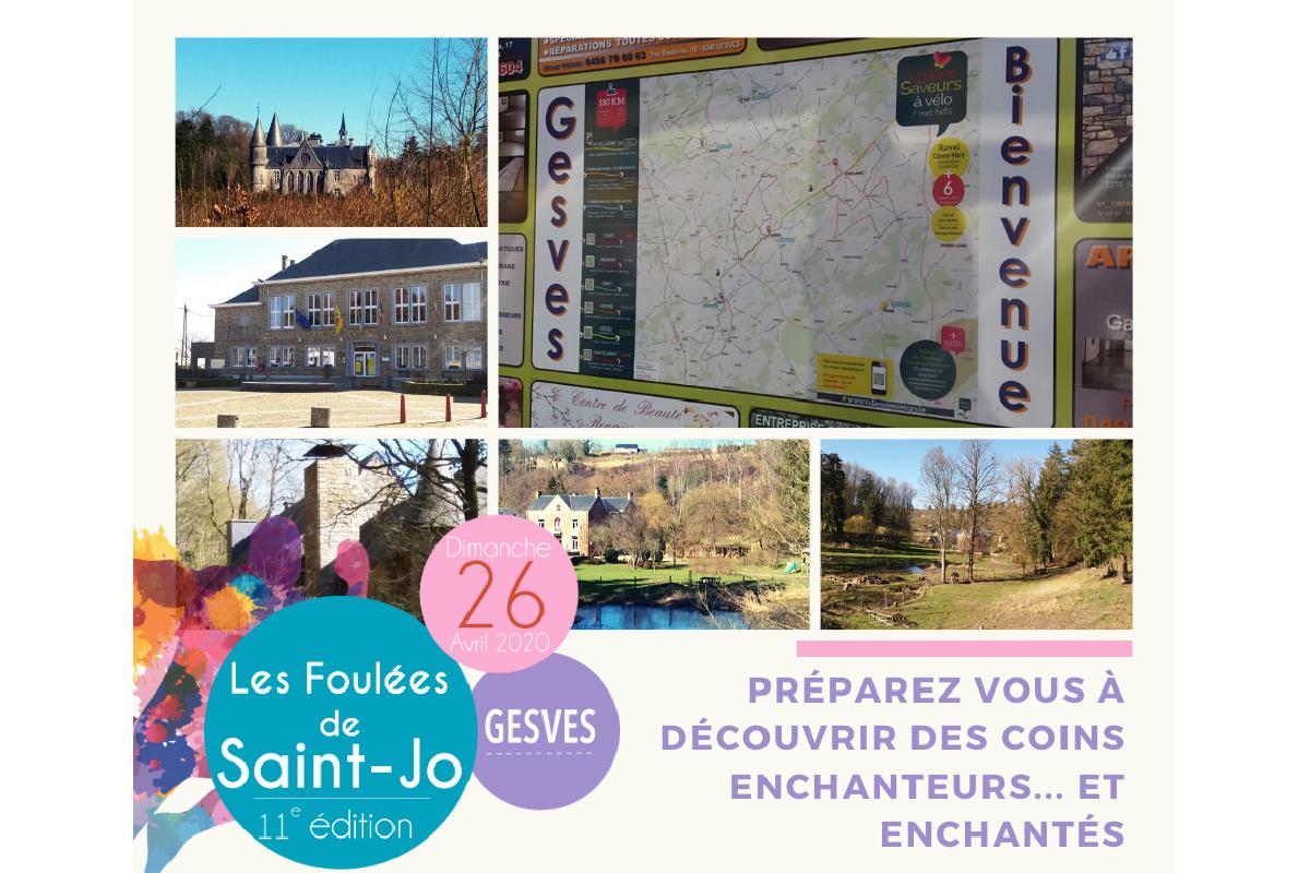 26/04 - Les Foulées de Saint-Jo à Gesves