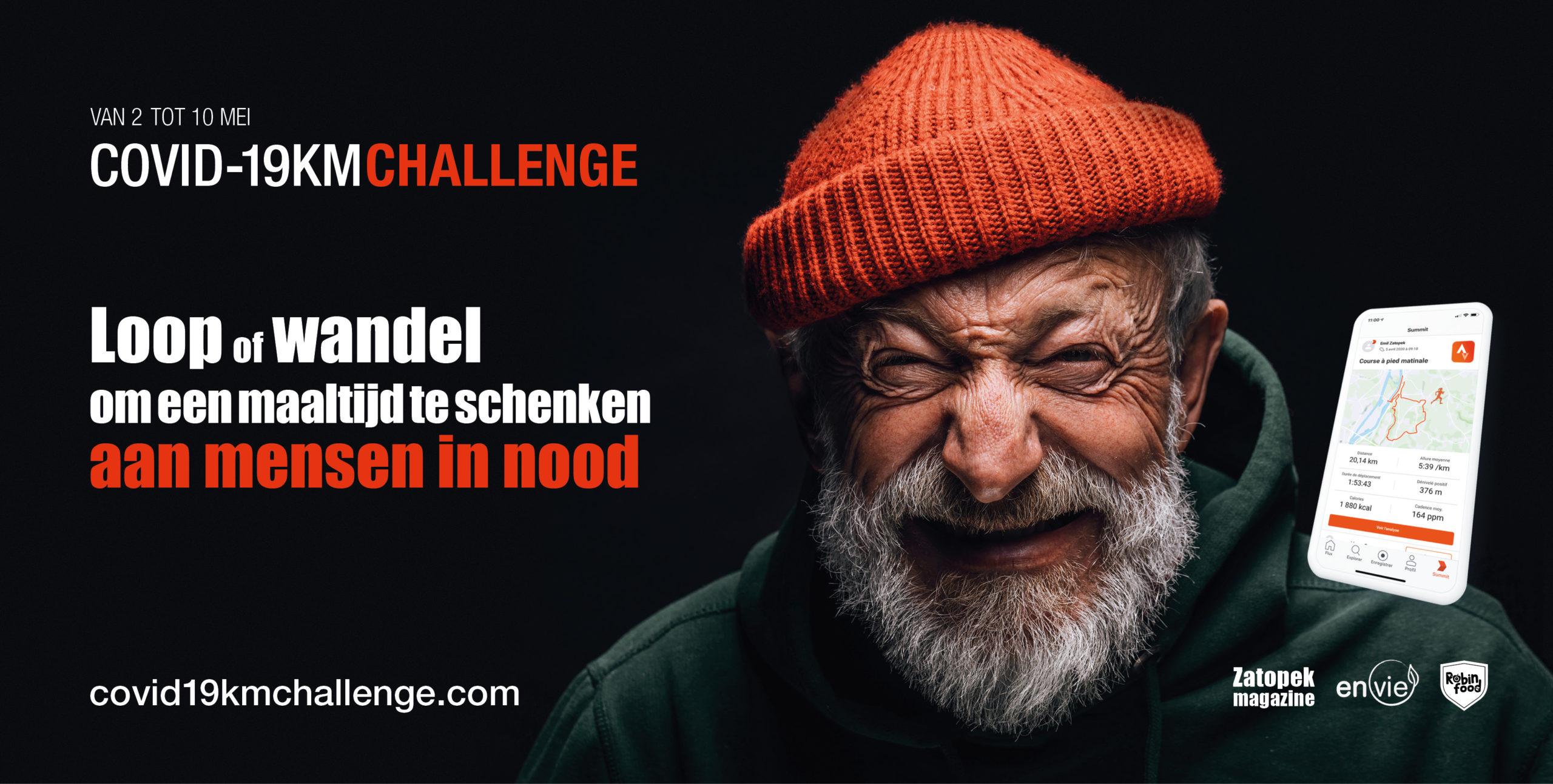 covid19km challenge zatopek