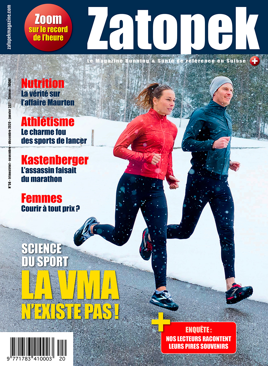 Zatopek magazine 56 édition suisse