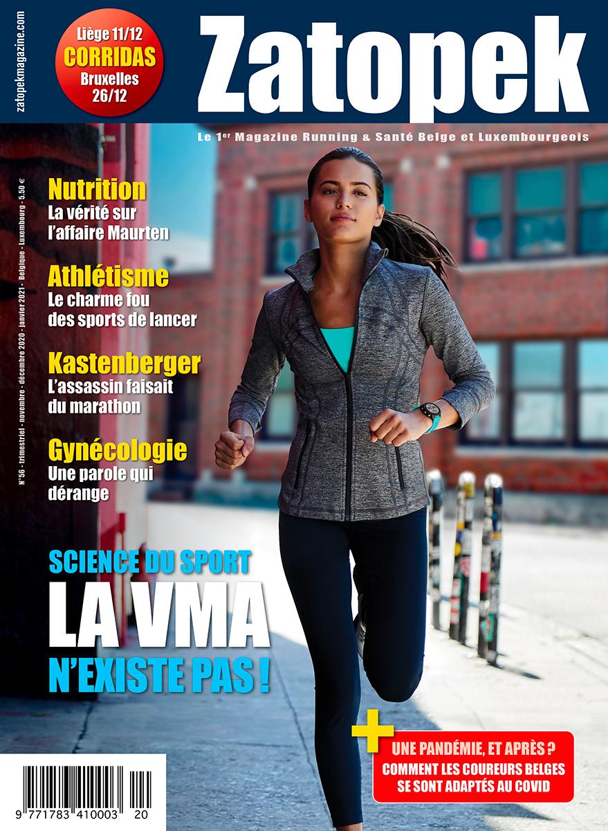 COVER magazine Zatopek Belux 56