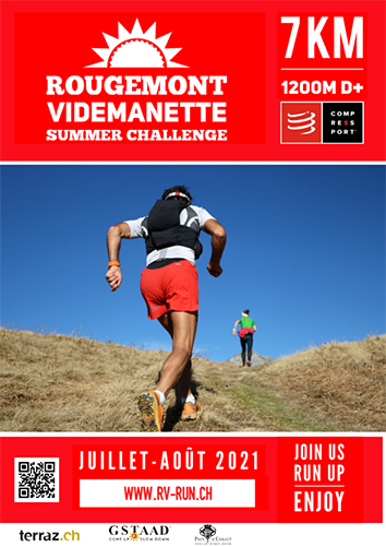 Affiche Rougemont Videmanette summer challenge 2021