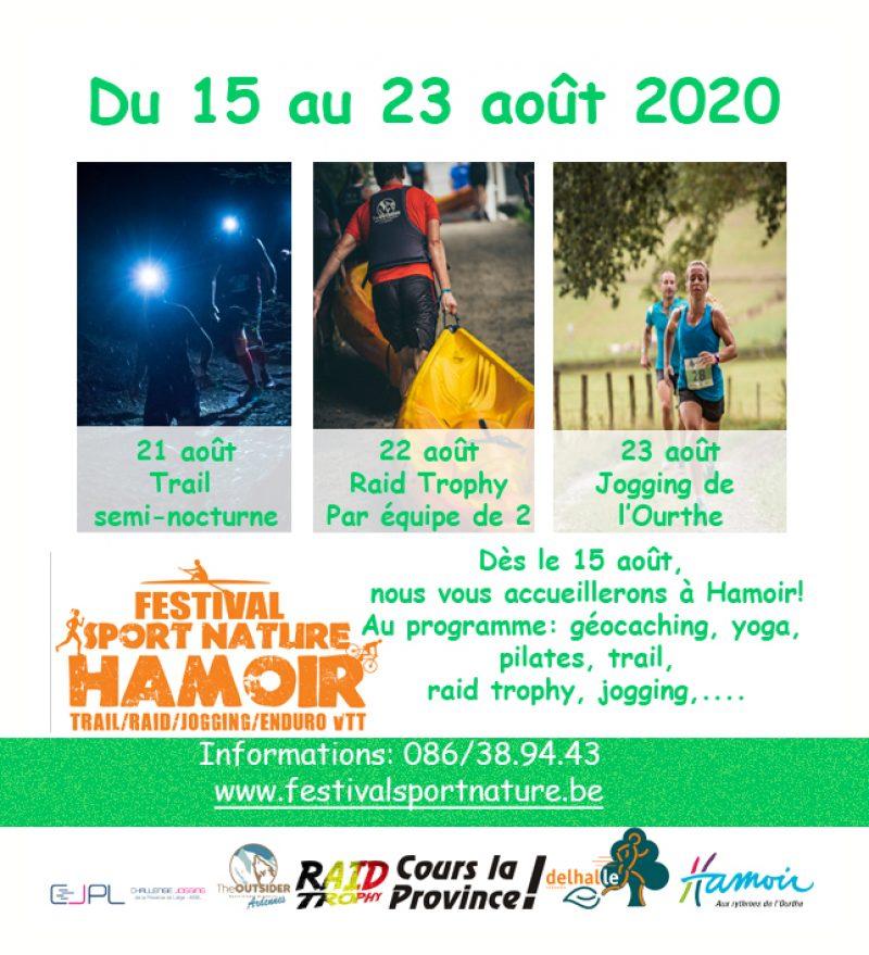 Festival Sport Nature Hamoir