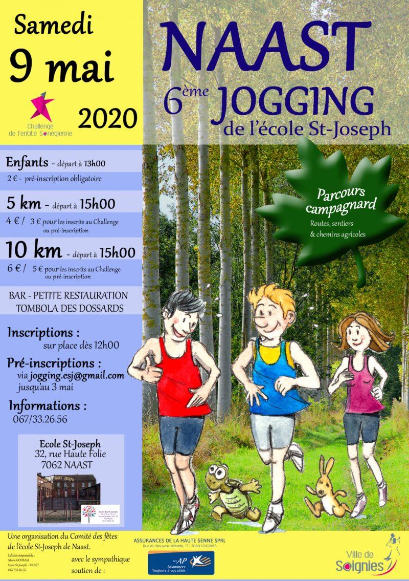 Jogging de l'école Saint-Joseph Naast