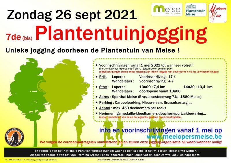Plantentuinjogging 2021